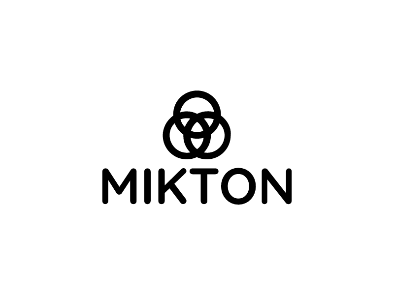 MIKTON logo design