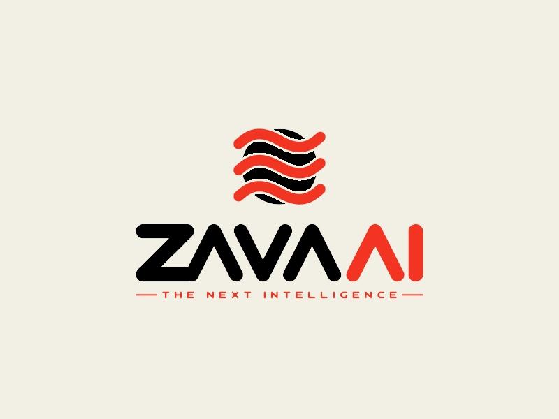 zava Ai logo design