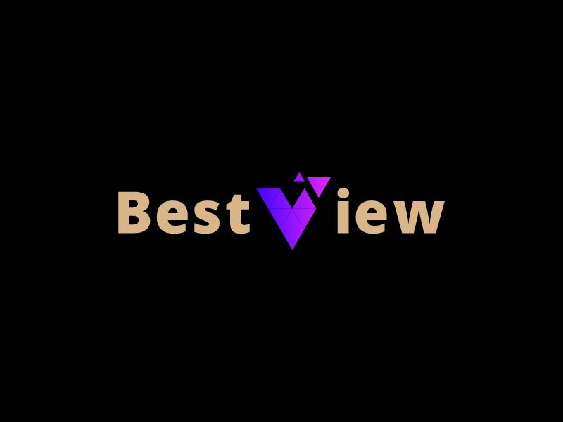 BestView logo design