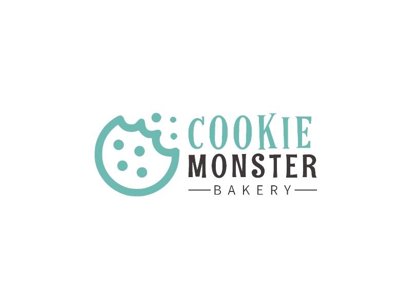 COOKIE MONSTER logo design