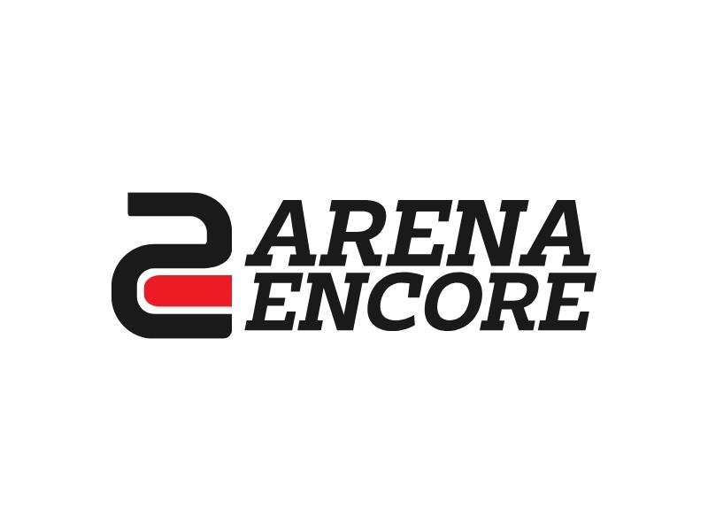 Arena Encore logo design
