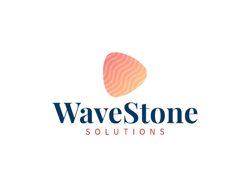 WaveStone logo design