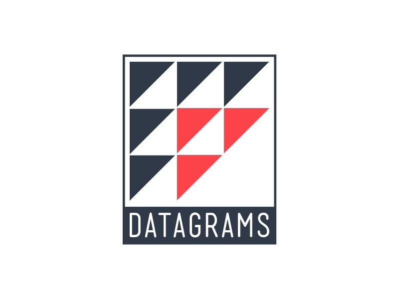 Datagrams logo design