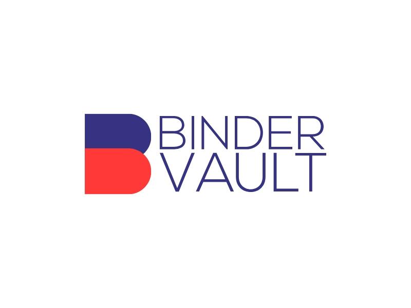binder vault logo design