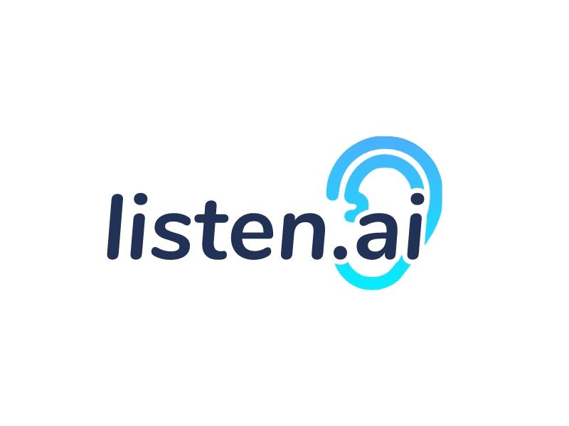 listen.ai logo design