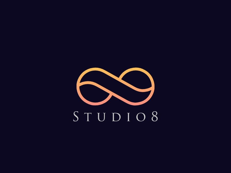 Studio8 logo design