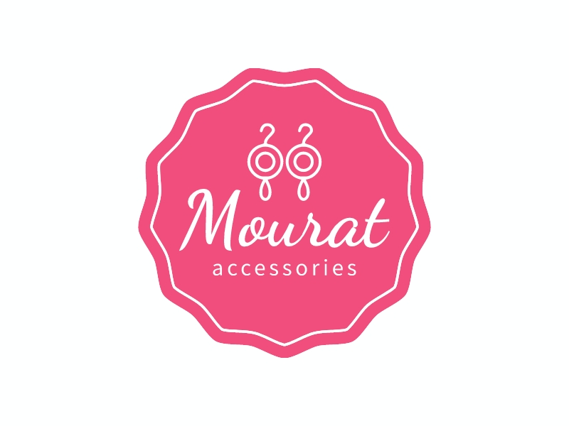 Mourat logo design