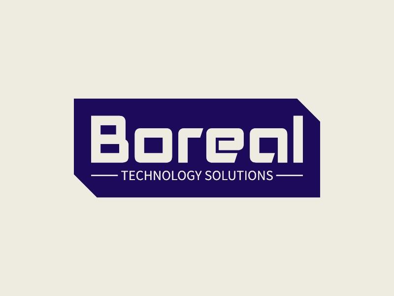 Boreal logo design