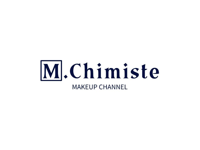 M.Chimiste logo design