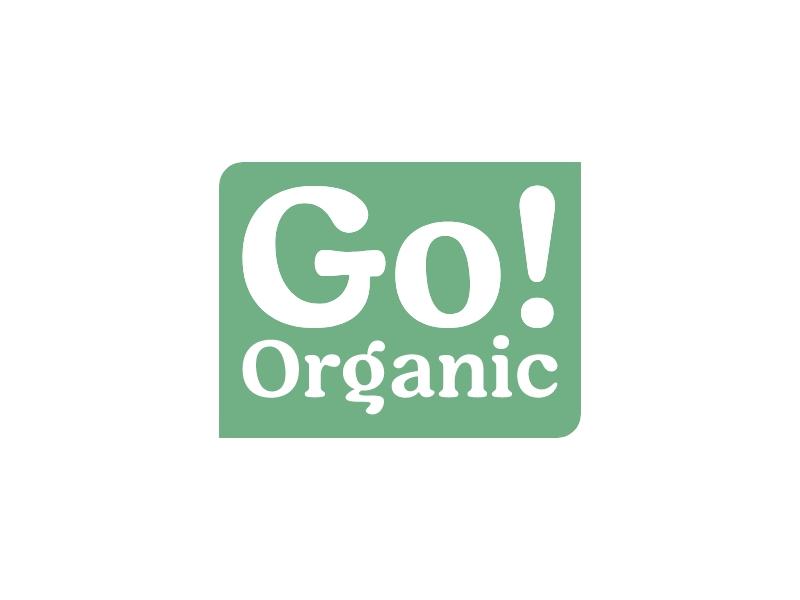 Go! Organic logo design