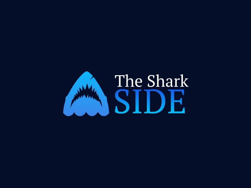 The Shark SIDE logo design