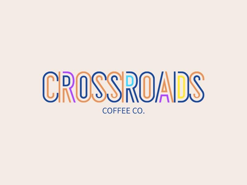 CROSSROADS logo design