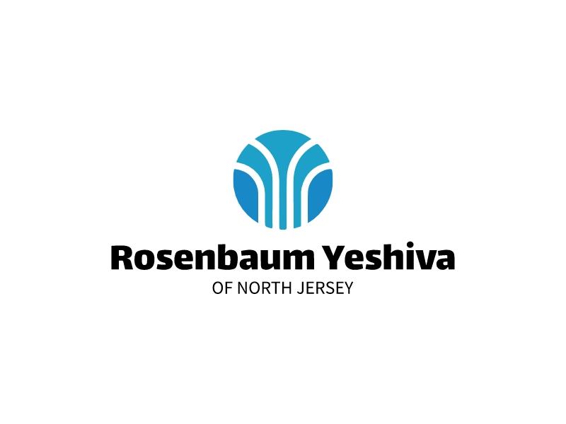 Rosenbaum Yeshiva logo design