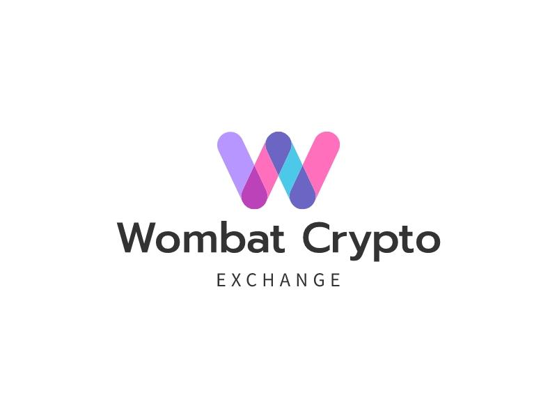 Wombat Crypto logo design