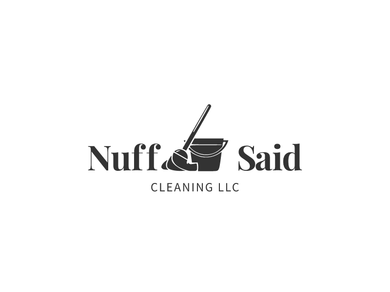 Nuff Said logo design