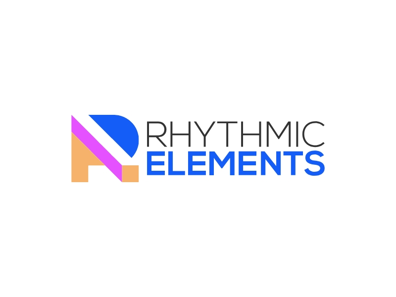 RHYTHMIC ELEMENTS logo design