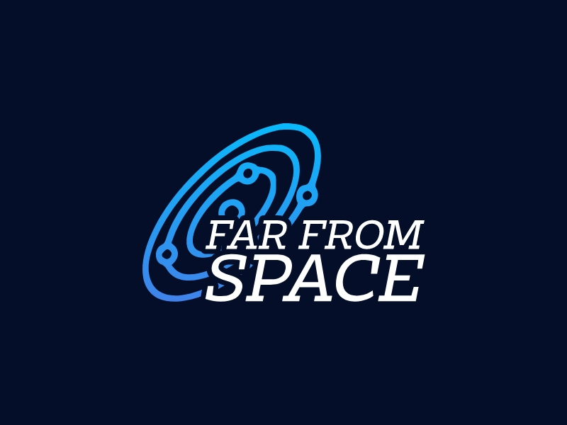 FAR FROM SPACE logo design