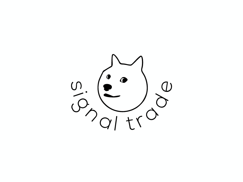 signal trade logo design