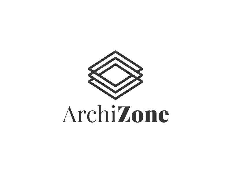 Archi Zone logo design