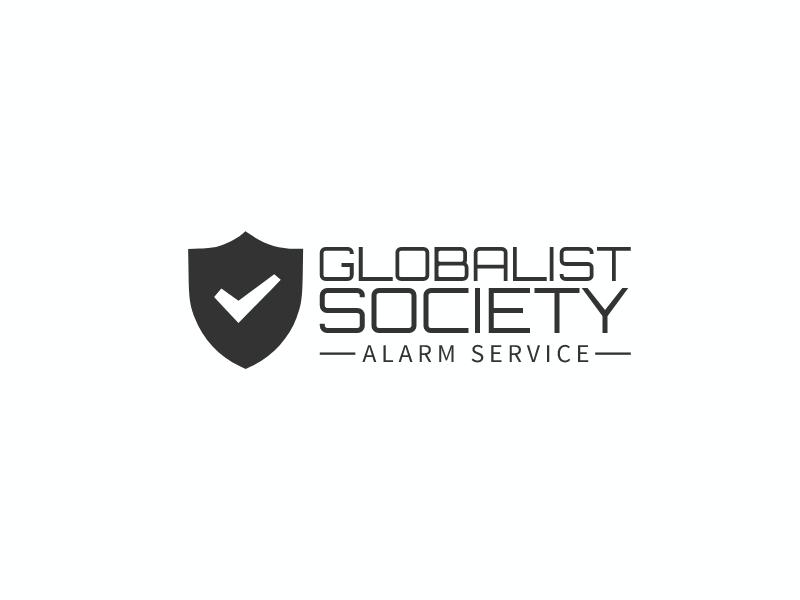 GLOBALIST SOCIETY logo design