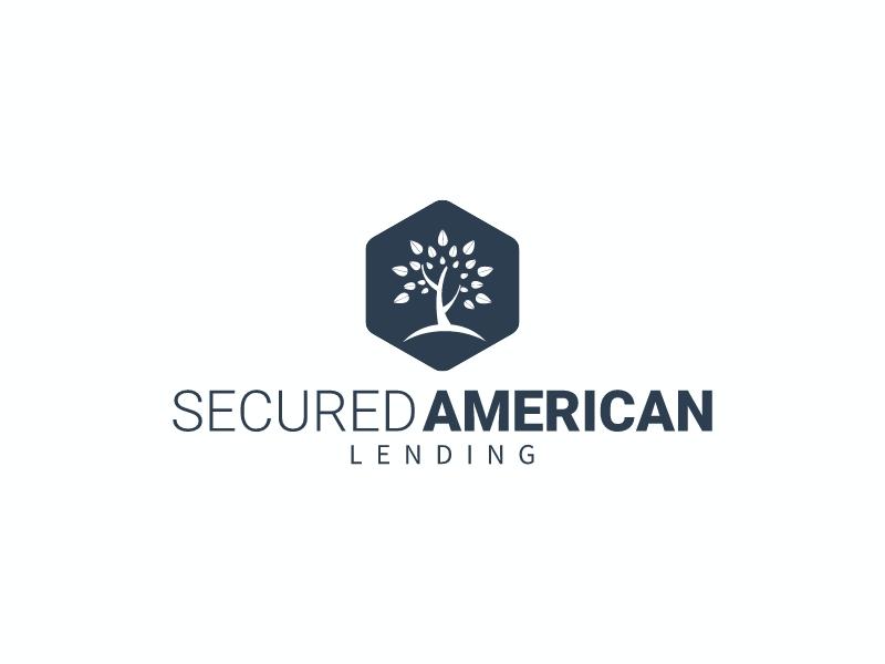 SECURED AMERICAN logo design