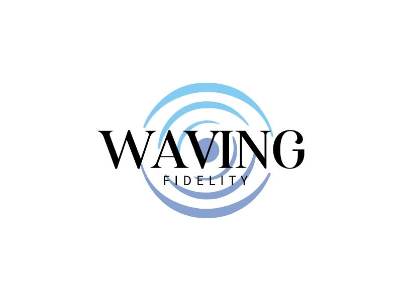 waving logo design