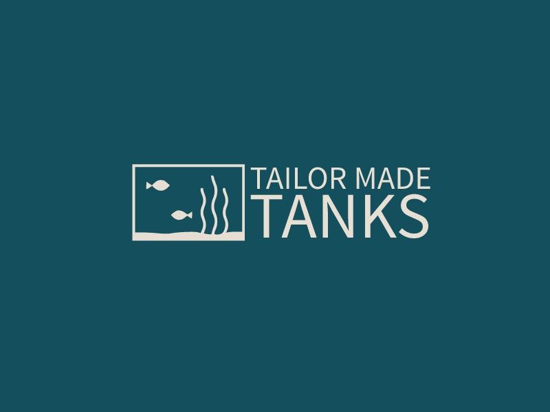 Tailor made tanks logo design