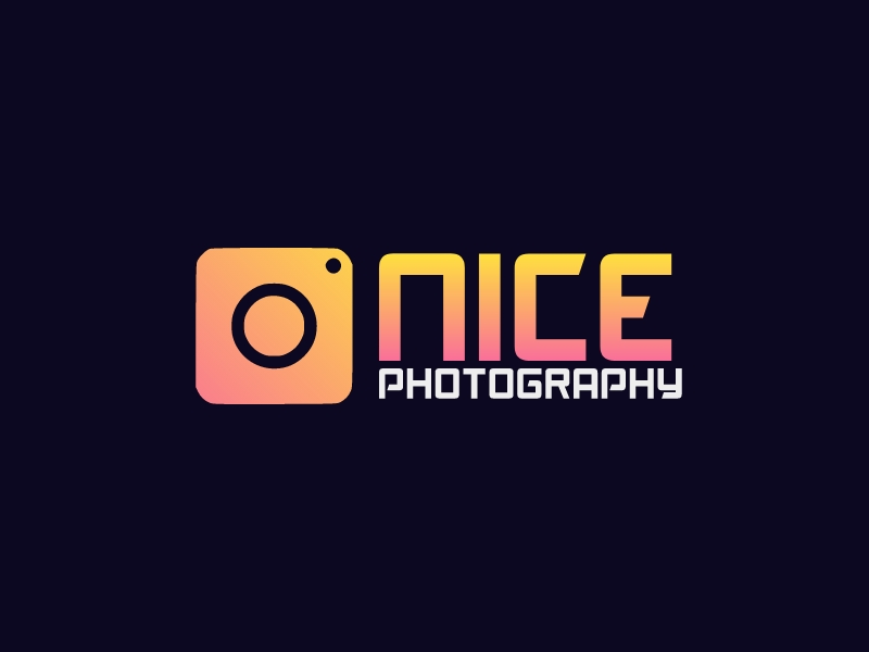 NICE PHOTOGRAPHY logo design