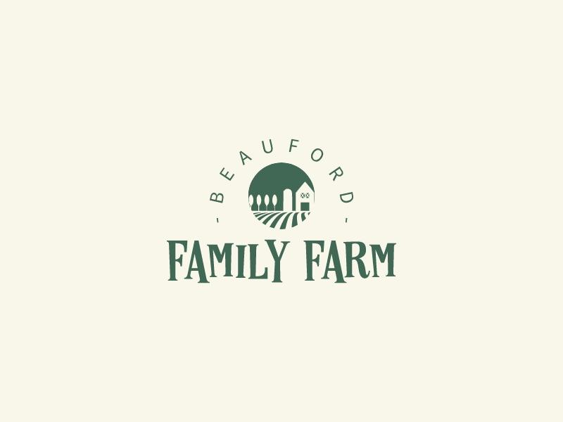 Family Farm logo design