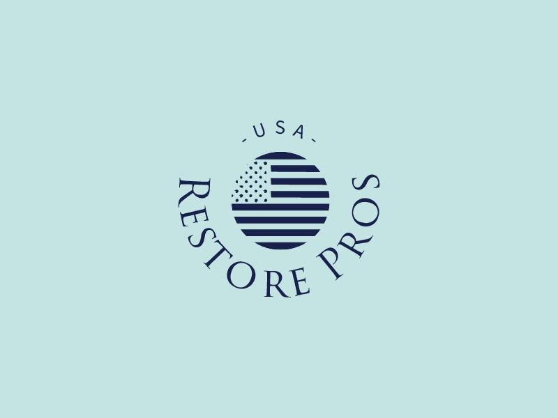 Restore Pros logo design