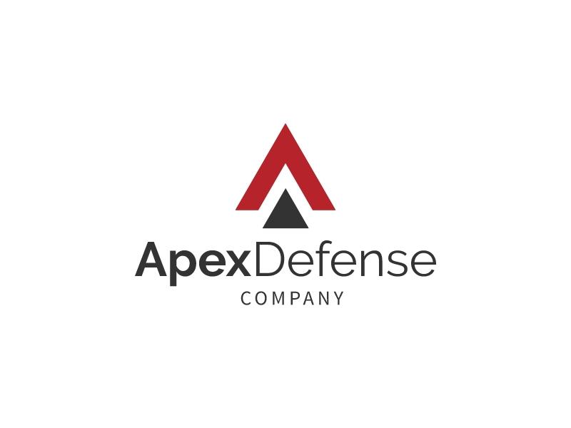 Apex Defense logo design