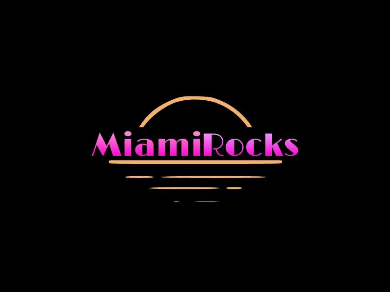 Miami Rocks logo design