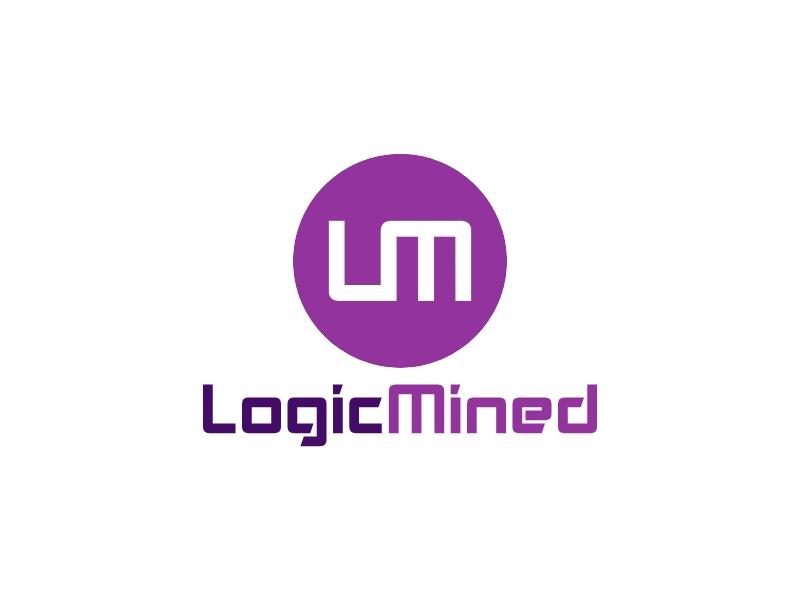 Logic Mined logo design
