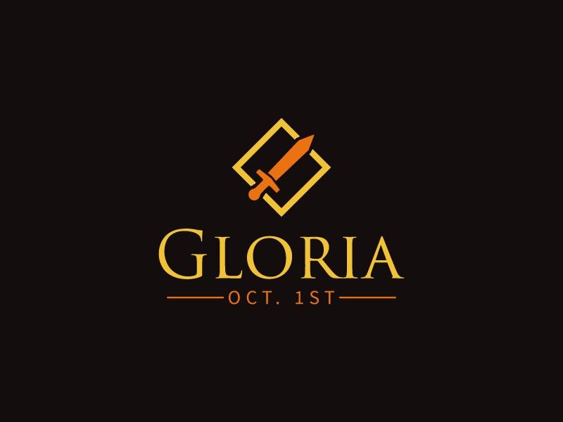Gloria logo design