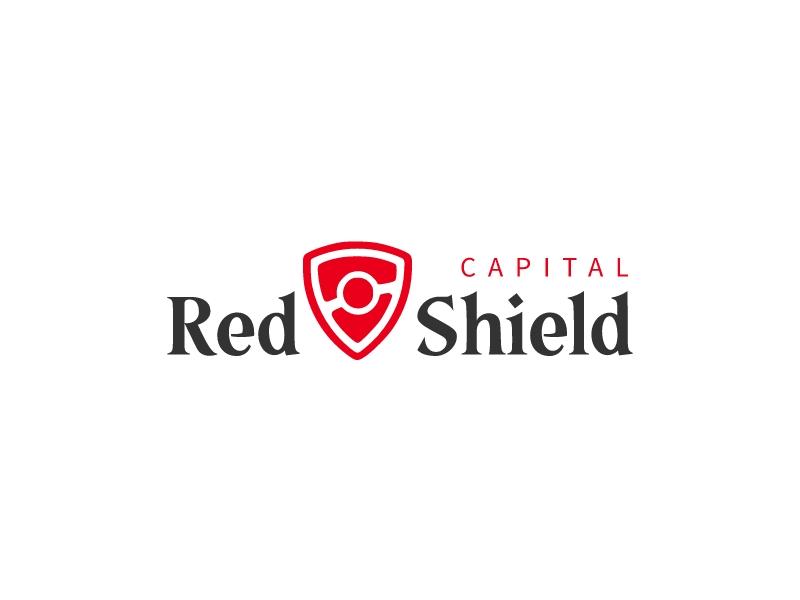 Red Shield logo design