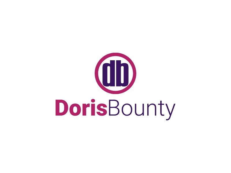 Doris Bounty logo design