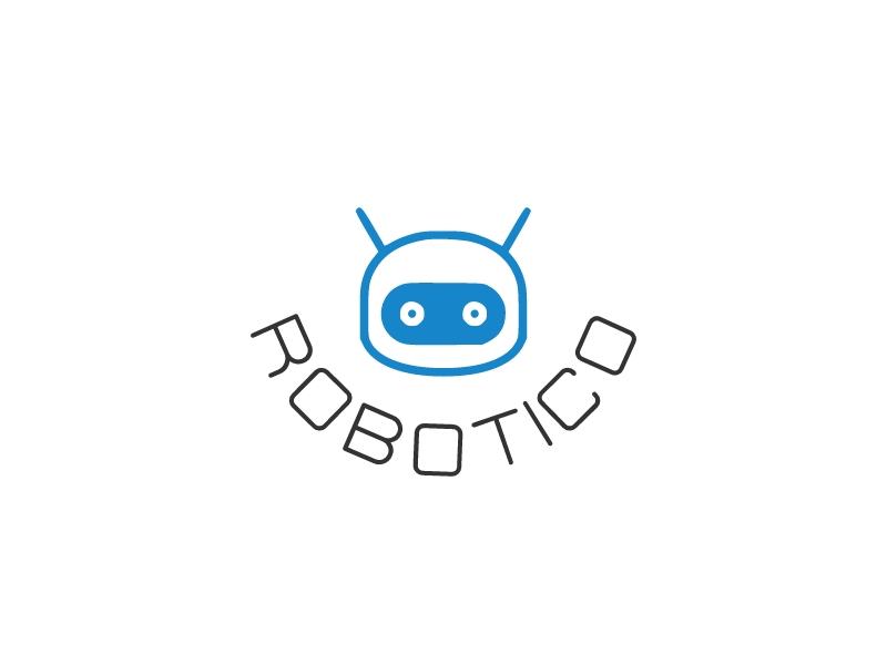 robotico logo design