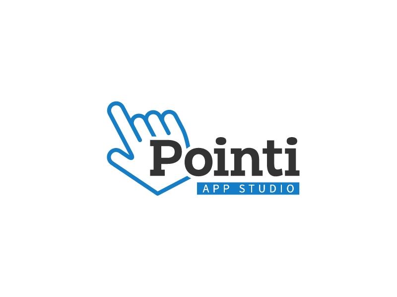 Pointi logo design