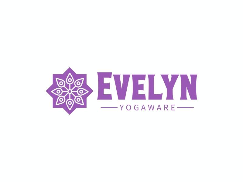 Evelyn logo design