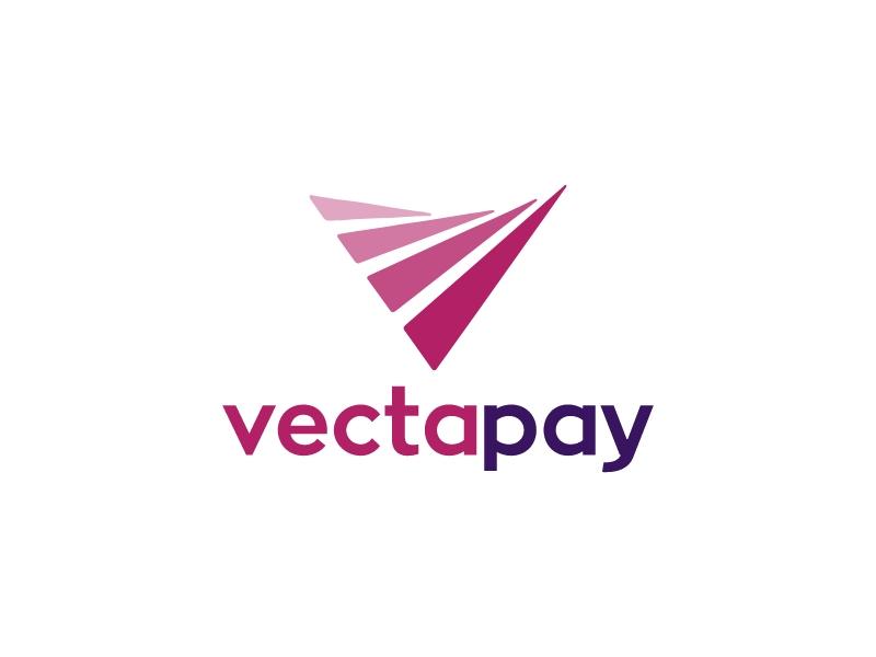 vecta pay logo design
