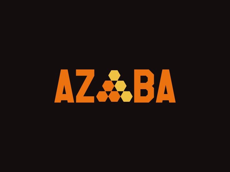 Azba logo design